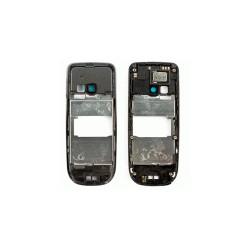 Средняя часть корпуса для Nokia 3120c, черный, полная