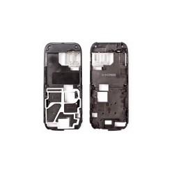Средняя часть корпуса для Nokia 6233, черный, пустая