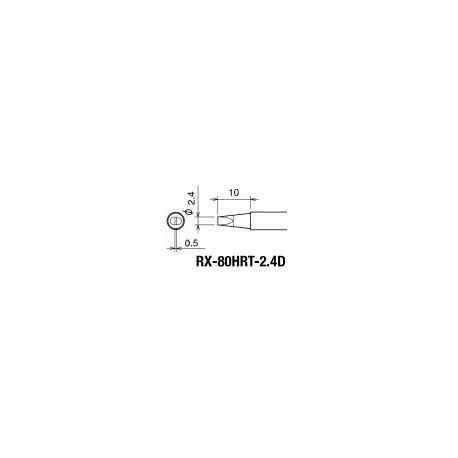 Паяльное жало Goot RX-80HRT2.4D