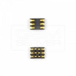 Коннектор SIM-карты для Nokia 5310, 5630c, 603, 6210n, 6220c, 6720c, 6730c, 710 Lumia, 7710, 8600, C5-00, E61, E61i, E62