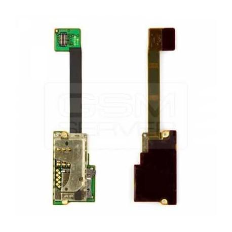 Коннектор SIM-карты для Nokia E90, коннектор карты памяти, со шлейфом
